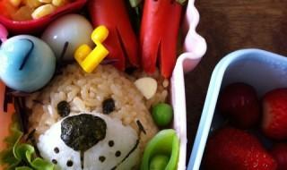 【スージー・ズー ブーフ】のお弁当★最近よく見かけるクマさん