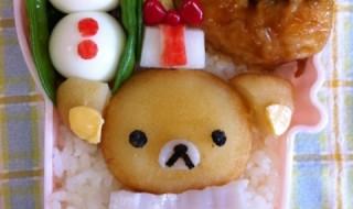 【クリスマスリラックマ】のお弁当★メリークリスマス!!