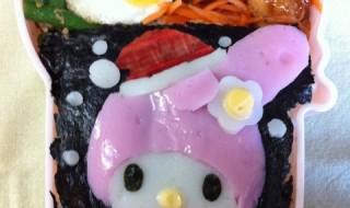 【サンタマイメロディ】のお弁当★おねがいクリスマス