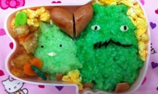 【モリゾー&キッコロ】のお弁当★なつかしの愛知万博!