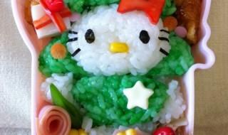 【クリスマスツリーキティ】のお弁当★もうすぐクリスマス!