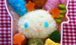 【ウサハナ】のお弁当★カラフルうさぎちゃん!