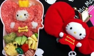 【サンリオピューロランド The Next Hello Kitty クイーンキティ】のお弁当★