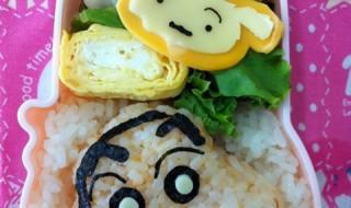 【クレヨンしんちゃん しんのすけ&シロ】のお弁当★元祖日常系漫画?