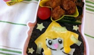 【ポケモン ジラーチ】のお弁当★私の地域では七夕まつりが毎年アツいです!