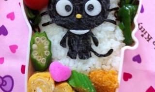 【チョコキャット】のお弁当★マイナーキャラとか言わないの!