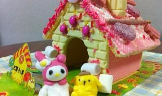 ★冬休み特別企画★ 娘はお菓子の家を作ってみた。