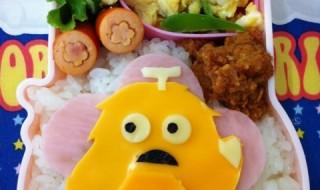 【ひらけ!ポンキッキ ムック】のお弁当★黄色?!?!