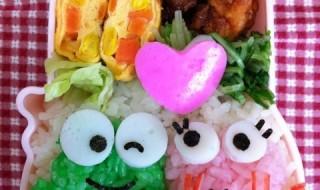 【けろけろけろっぴ&けろりーぬ】のお弁当★今日はこの子のお誕生日!!