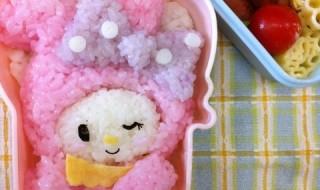 【水玉リボンマイメロディ】のお弁当★1日遅れのおめでとう!
