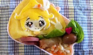 【スマイルプリキュア! キュアピース】のお弁当★ピカピカピカりん!じゃんけんぽんって……何?!