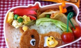 【リラックマ&キイロイトリ】のお弁当