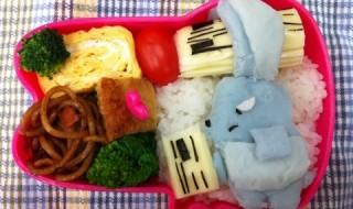 【おねがいマイメロディ バク】のお弁当