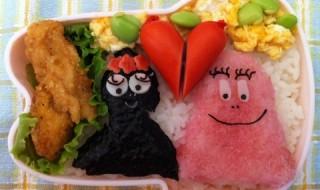 【バーバパパ&バーバママ】のお弁当