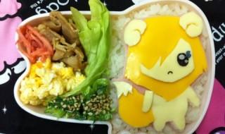 【スマイルプリキュア! ポップ】のお弁当