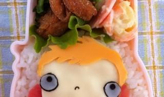 【崖の上のポニョ ポニョ】のお弁当