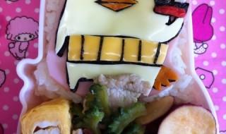 【愛媛県今治市のゆるキャラ バリィさん】のお弁当★ゆるキャラグランプリ2012!!